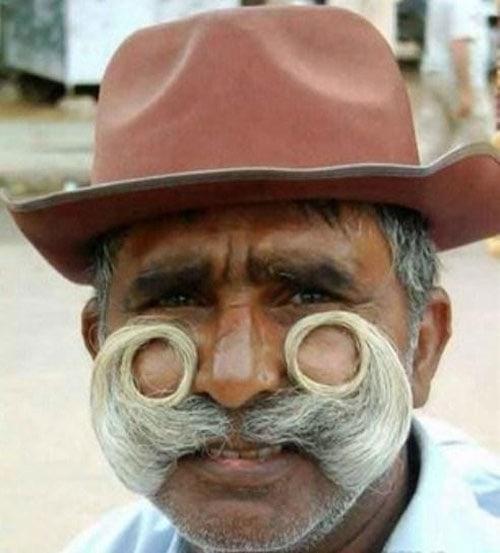 Funniest Mustaches 4