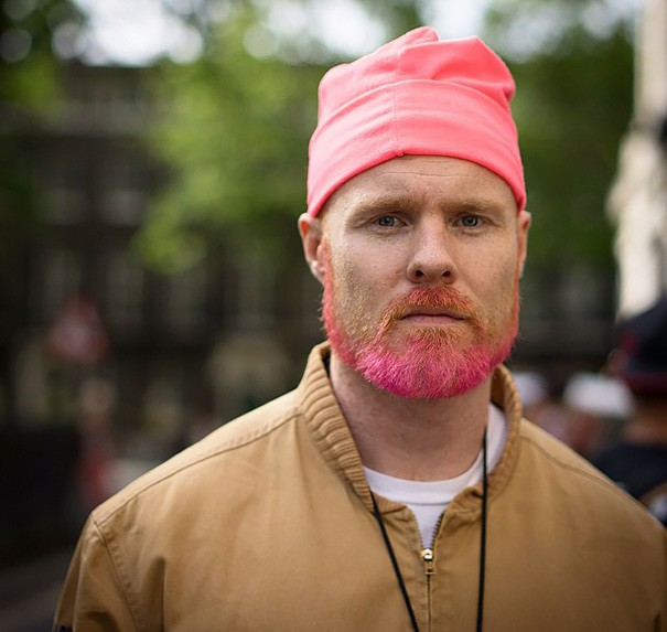 nice Shallow Beard in Pink color