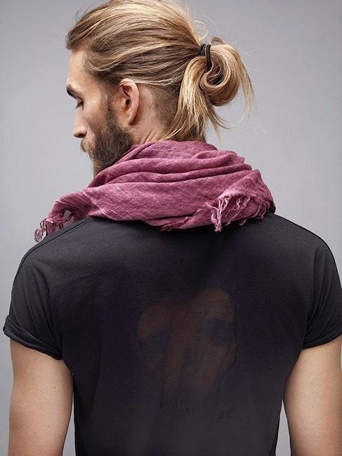 beard design with bun
