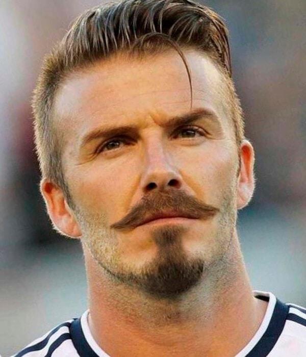 David Beckham beard design