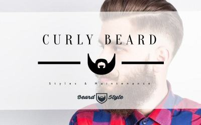 curly beard style and maintenance