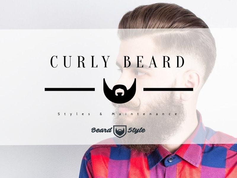 curly beard style and maintenance