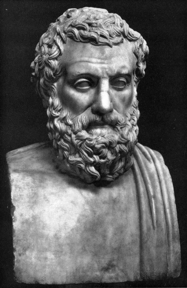 Sophocles historical beard