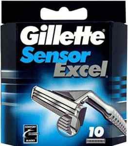 Gillette Sensor Excel Refill Blade Cartridges