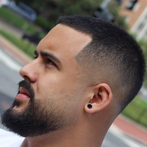 Line up Beard Fade
