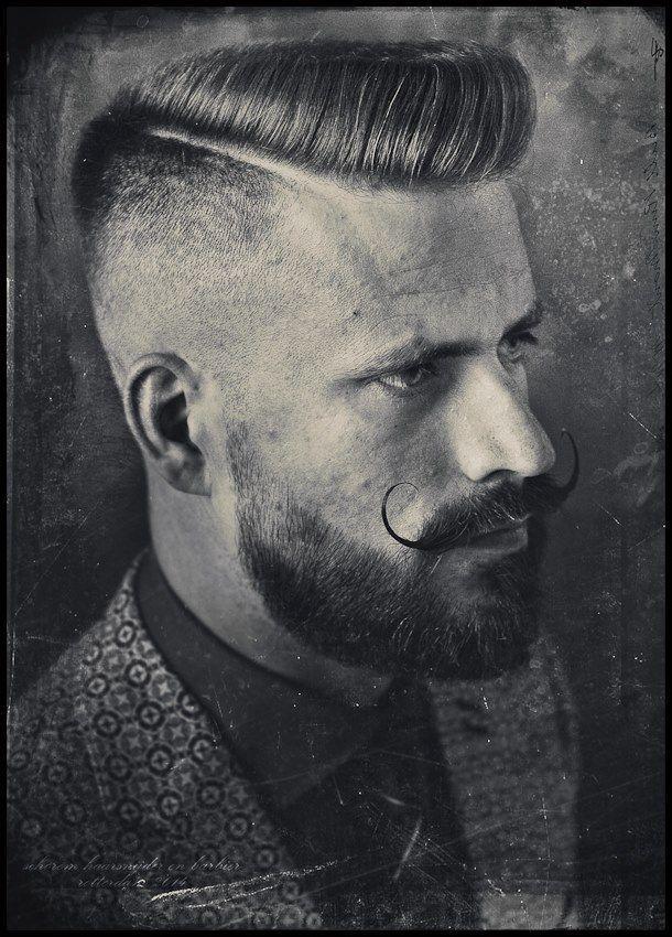 Faded Hipster Beard