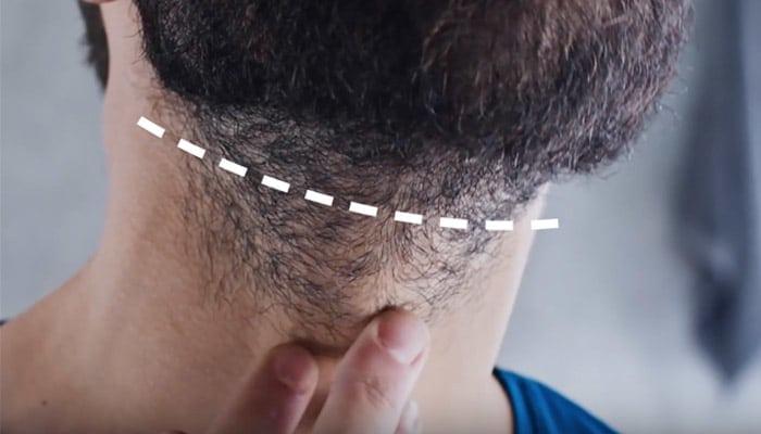 design your beard neckline
