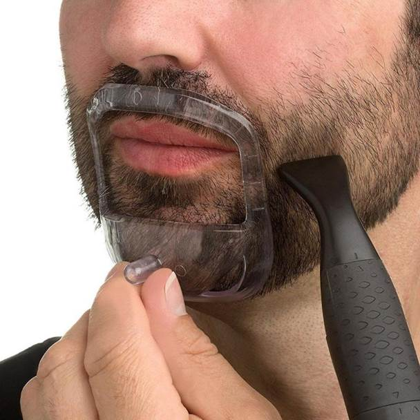 beard shaping tool to trim beard neckline