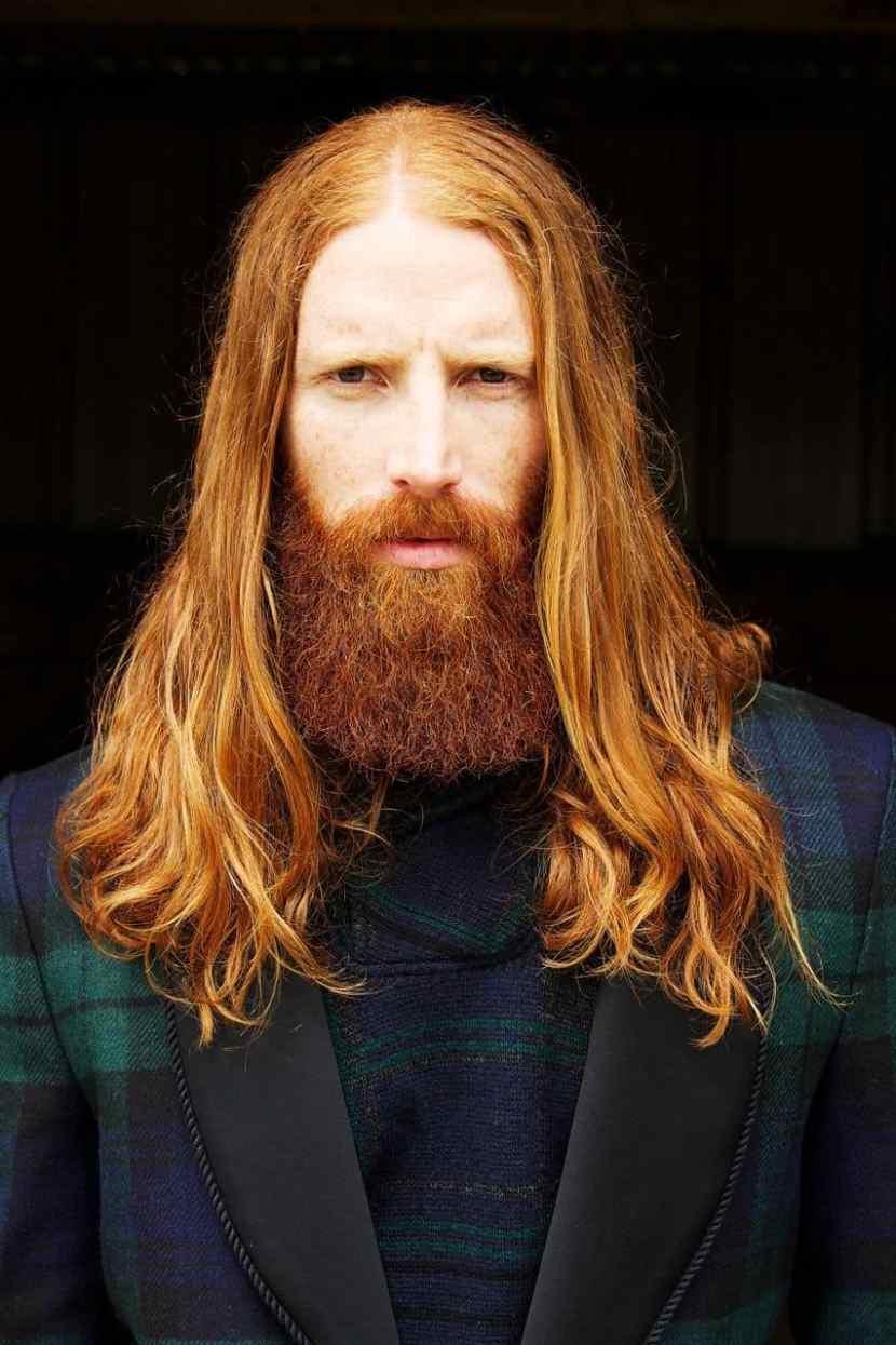 Ginger Has Super Powers: myths of ginger beard