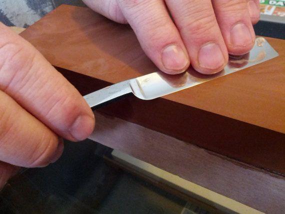 Honing- straight razor tool