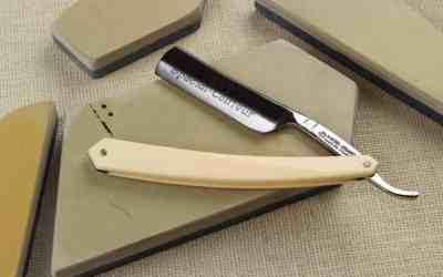 sharpening straight razor