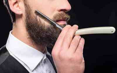 shave with straight-razor