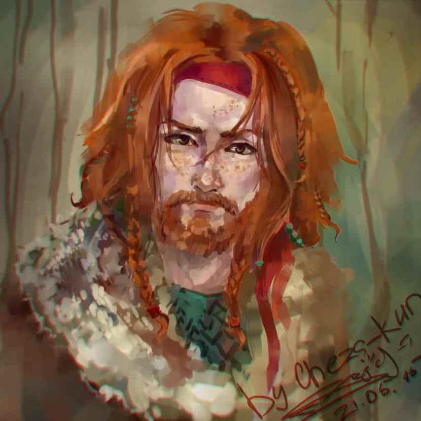 Artistic Gingers beard