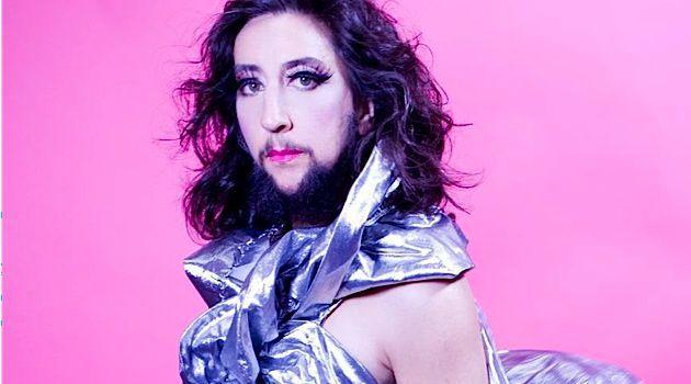 Circus artist Jennifer Miller's beard