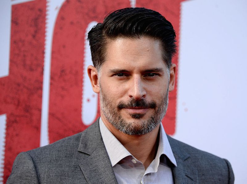 Joe Manganiello with beard