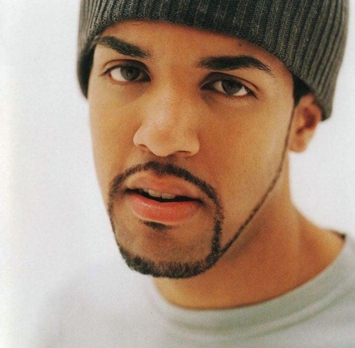 black men beard style