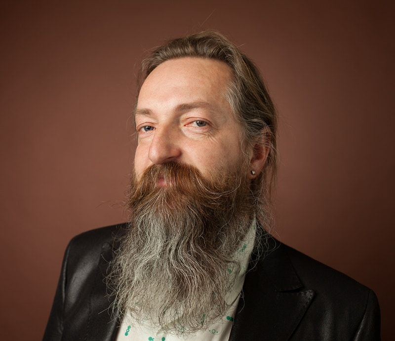 long thin beard