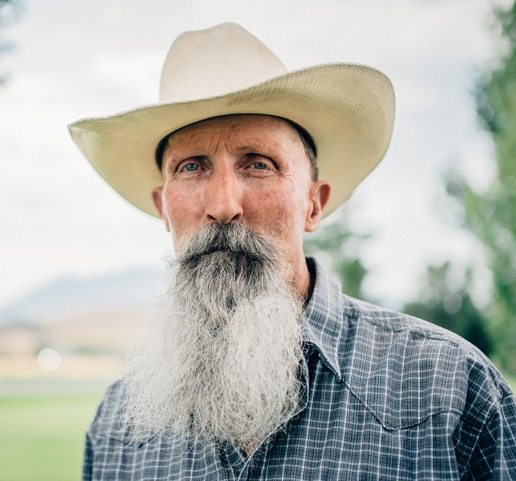 long beard for old men