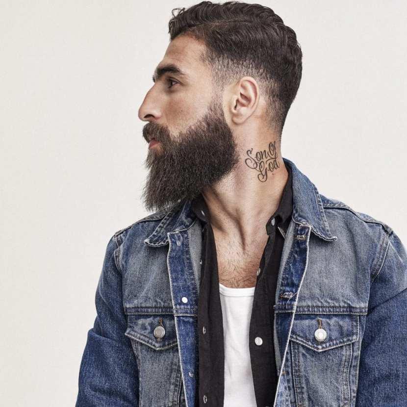 Jimmy Durmaz - Swedish soccer player beard trend