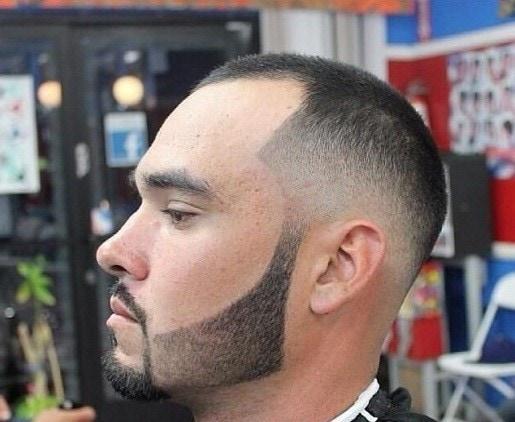 faded beard design