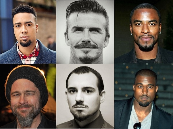 different goatee styles