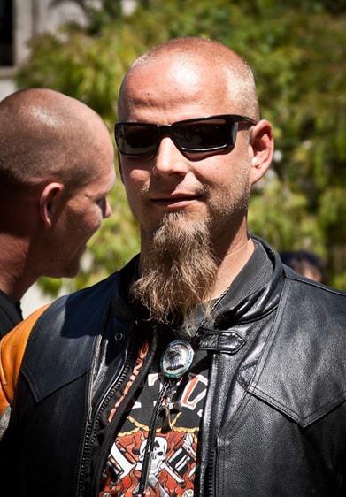 long goatee beard style