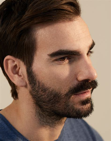 beard style with broad jawline
