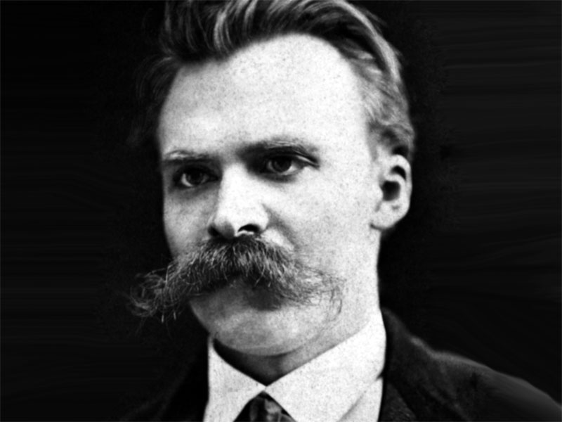 Friedrich Nietzsche Walrus mustache style
