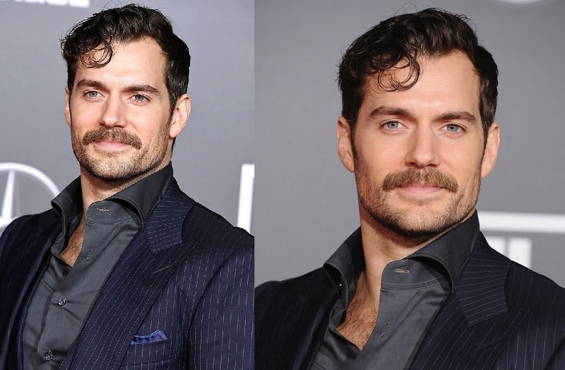 Henry Cavill's Thick Mustache