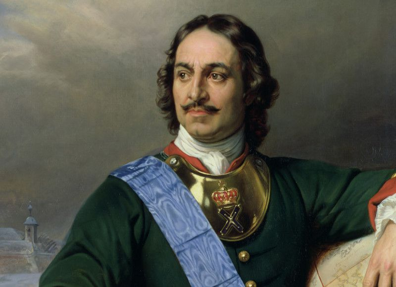 Peter The Great I mustache