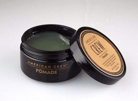 American Crew Pomade for Hold and Shine pomade beard
