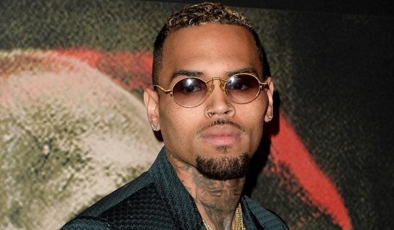 Chris Brown with Beard