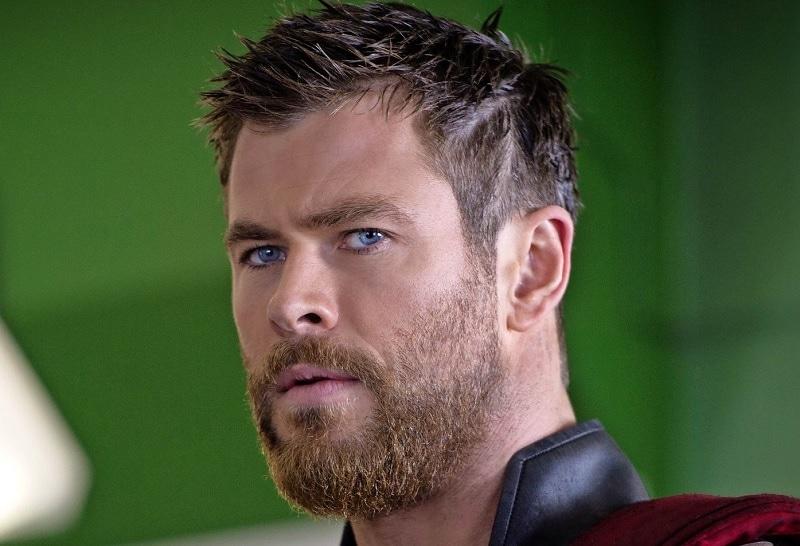 Chris Hemsworth with Blonde Beard