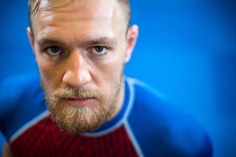 Conor McGregor's short beard with undercut