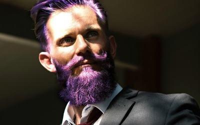 beard dyeing guide