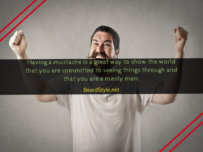 comical mustache quotes