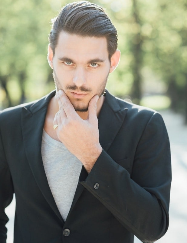 italian chevron mustache