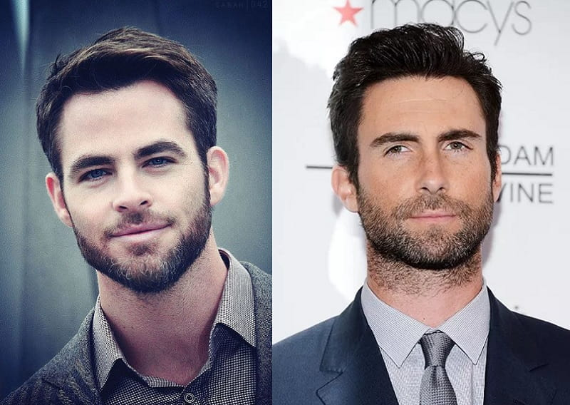 difference between jawline beard and neckline beard