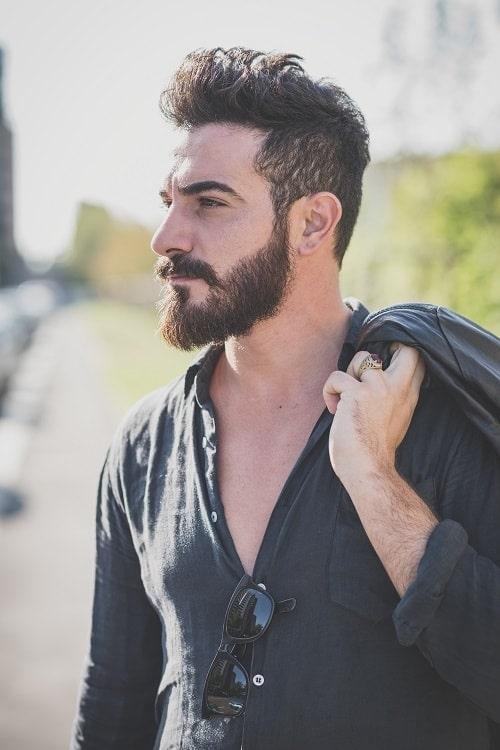 guy with full beard