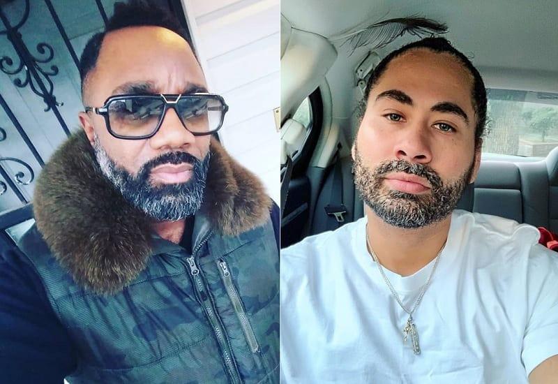 short trimmed salt and pepper beard