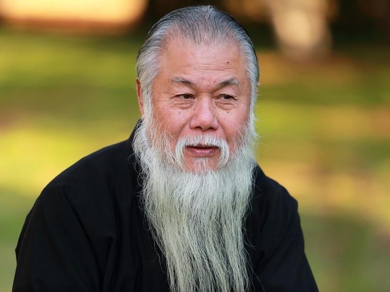 long chinese beard