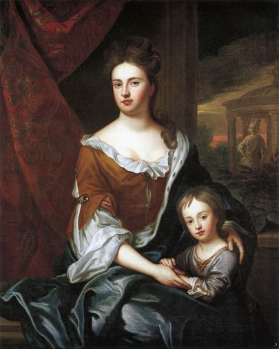 800px-Queen_Anne_and_William,_Duke_of_Gloucester_by_studio_of_Sir_Godfrey_Kneller