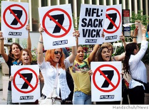 So much for the protest....I think you wasted your time PETA