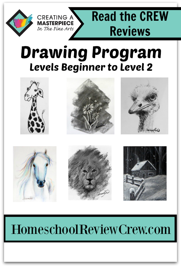 If you or your child wants to learn how to draw like a pro, then you will love this Drawing Program from Creating a Masterpiece. With this engaging program, aspiring artists can begin creating beautiful artwork in as little as the first lesson. Today, I am reviewing the program and showing my daughter's progress.