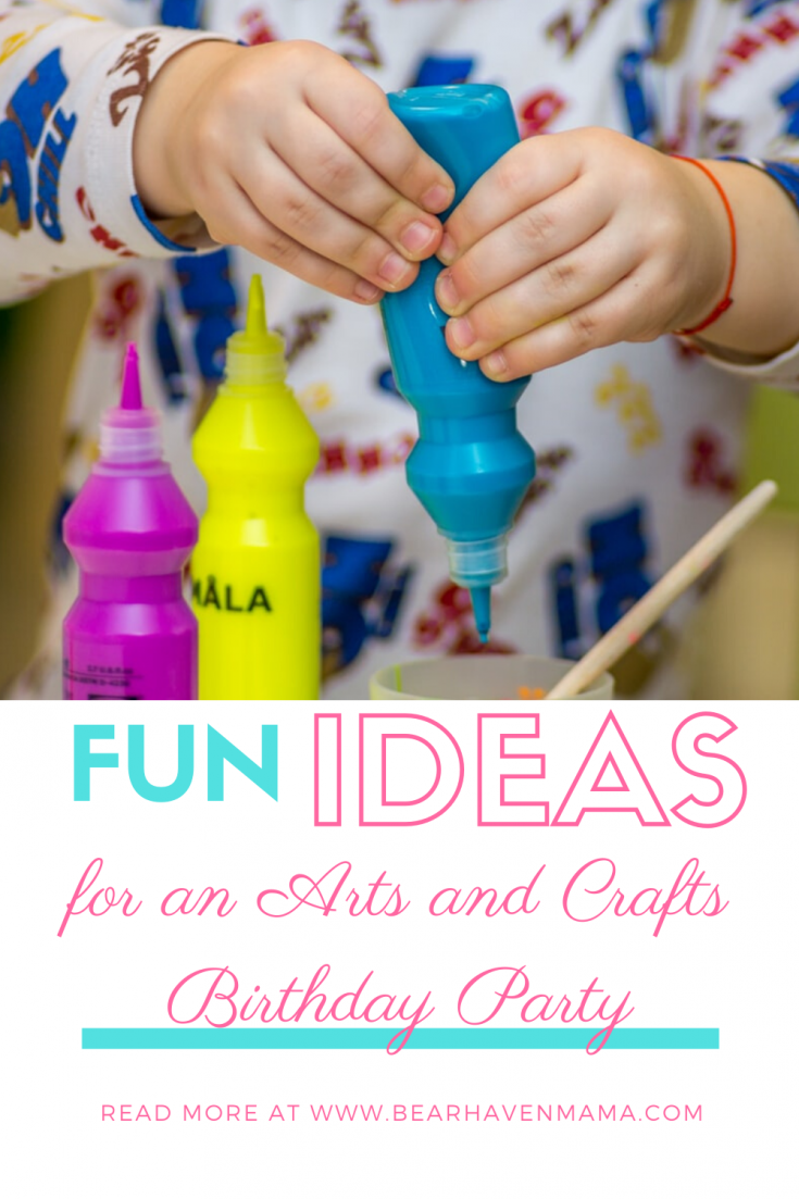 Find everything you need to do an Art Themed Birthday Party. This tutorial provides lots of great ideas to make your arts and crafts birthday party pop!