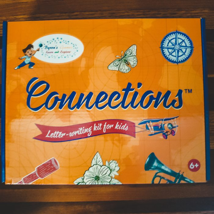 Help children learn to write letters with this global-themed, fun letter-writing kit with this letter writing kit from Byron's Games.