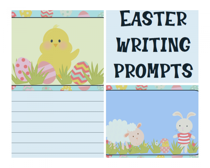 This Easter Writing Prompts Keepsake Journal features three Easter scenes to spark creative juices for writing! Perfect for K-6, with extra space to write longer stories for older kids. Includes a 13 page PDF