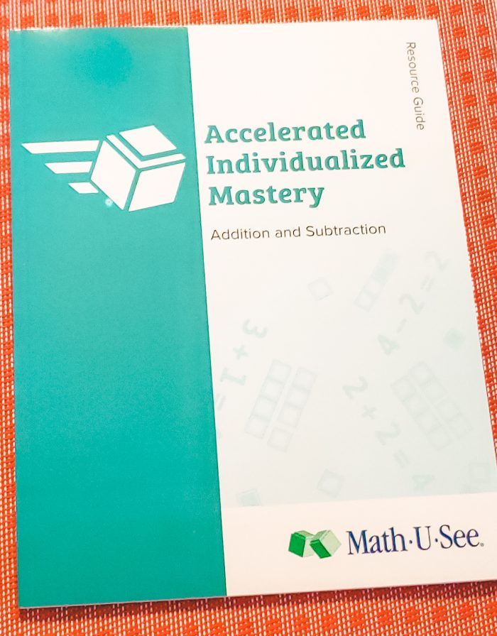 Find out how Math-U-See Accelerated Individualized Mastery (AIM) for Addition and Subtraction helps your child master math at their own pace.