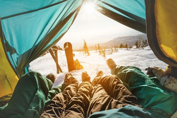How to Stay Warm in a Tent 3