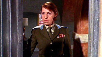 Lotte Lenya stars as poison-shoed Rosa Klebb in From Russia With Love